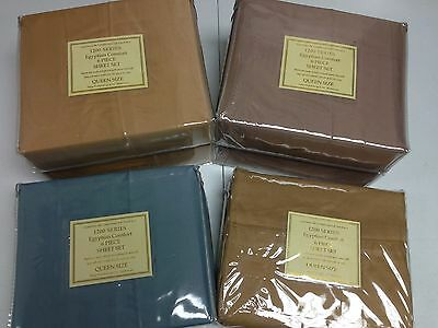 Lot Of 6 Queen Size Egyptian Cotton Feeling 800 Thread Count 6 Pcs Sheet Sets