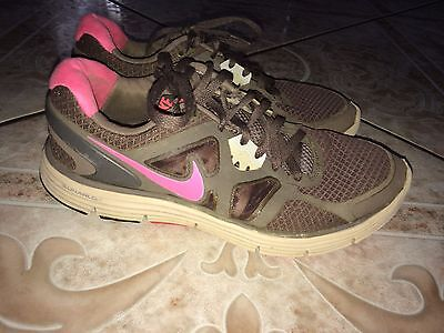 Women's Nike Lunarglide 3 Athletic Fitness Running Shoes Size 7.5 Pink