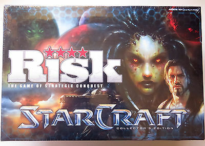 Risk: Starcraft Collector's Edition Board Game New and Sealed