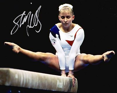 USA Olympic Champion Shannon Miller Autographed 8x10 Photo (Reproduction)  1