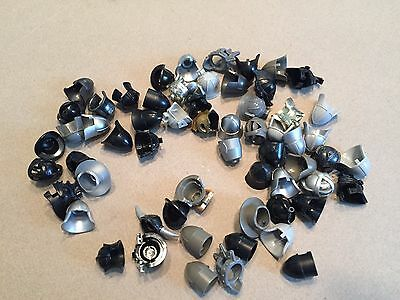 Huge Lot of 60 Lego Helms Helmets Armor Castle Knights minifig accessories Y386