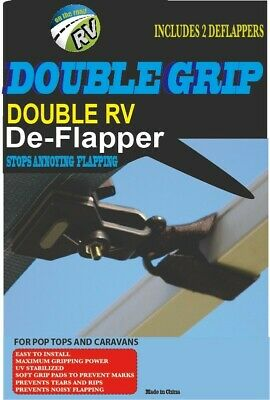 DoubleGrip Awning Deflappers New Caravan Camper RV Motorhome Parts Accessories