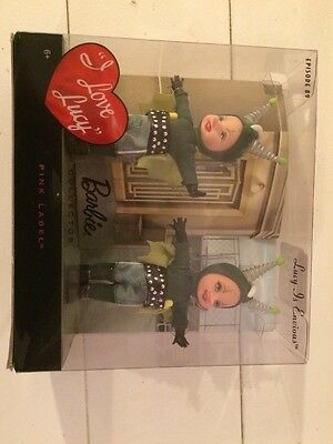 """Barbie Collector I Love Lucy """"Lucy Is Envious"""" Kelly Dolls $45"""