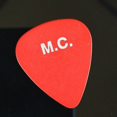 """TOM PETTY - Mike Campbell's Guitar Pick! - 1995 WILDFLOWERS Tour! """"M.C."""""""
