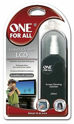 One For All 250 ml SV8415 LCD Screen Cleaner - Black