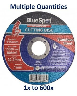 115mm Ultra Thin Steel & Stainless Steel Metal Cutting Discs Disc Angle Grinder