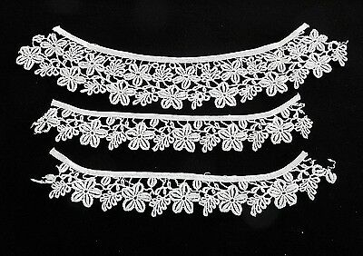 Vintage Lace And Collar Cuffs  1950's Sweater Style Perfect For Retro Look