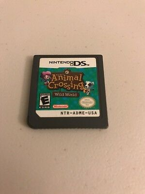 Animal Crossing: Wild World (Nintendo DS, 2005) - CART ONLY! Mint!