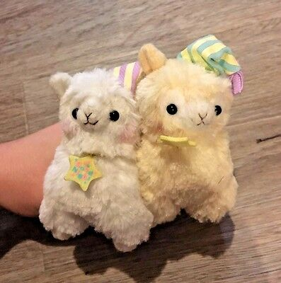 Alpacasso keychain good night plush lot