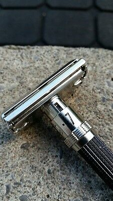 Gillette Razor Black Beauty Short Handle O 2 Date Code Adjustable 1 - 9