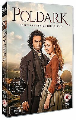 Poldark: Complete Series 1 and 2 DVD Box Set - 1st Class Post