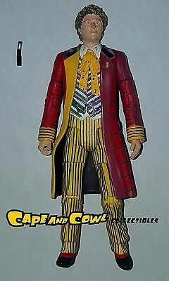 """Character Options Doctor Who THE SIXTH DR. Colin Baker Loose 5"""" Action Figure"""