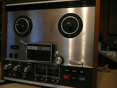 Teac 2300S reel to reel tape recorder