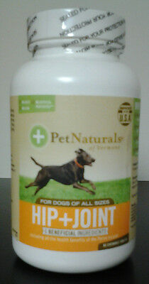 Hip & Joint for Dogs, Pet Naturals of Vermont, 90 tablet