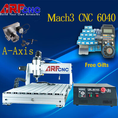 2.2KW USB Mach3 3axis CNC router 6040 Engraving Milling Machine Z-axis 75mm