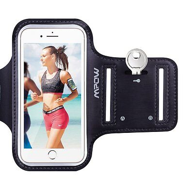 Mpow Sport Running Armband Case Jogging Gym Arm Band Pouch Holder For iPhone 7 6