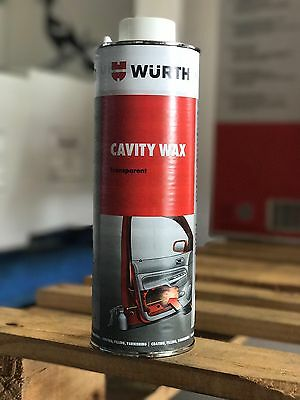 Wurth Cavity Wax 1lt, Restoration, Panel Beaters, Door Cavity. Automotive