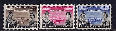 BECHUANALAND PROTECTORATE  STAMPS 1960,QEII SC# 166-8 MLH Set