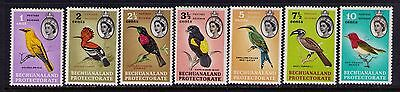 BECHUANALAND PROTECTORATE  STAMPS ,QEII Birds SC# 180-6 MLH Cat.$17