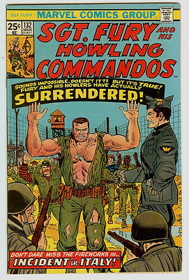 Sgt. Fury and His Howling Commandos #132 (Mar 1976, Marvel)