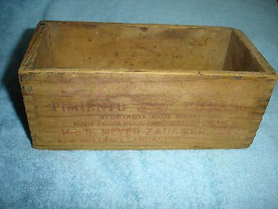 Vintage Wooden Cheese Box~ Pimiento Cheese~New Holland Pa