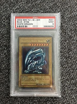 Blue Eyes White Dragon Sdk-001 Psa 9. Yu-gi-oh Not First Edition/no Dds