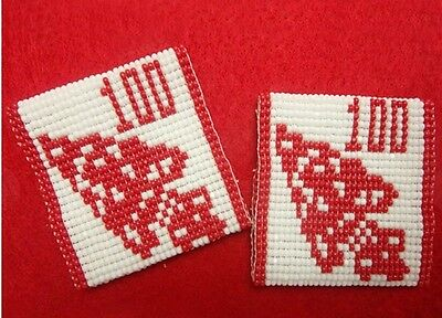 OA 2015 100th Anniversary BEADED Shoulder Loops Epaulettes Order Of The Arrow