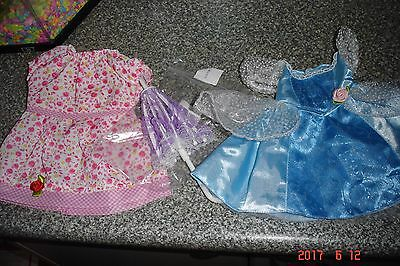 dolls clothing disney dress and dress to fit a 16 inch doll