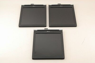 【AB Exc+】 3 Pics of Fidelity 8x10 inch Cut Film Holder (Holders) Set JAPAN #2821