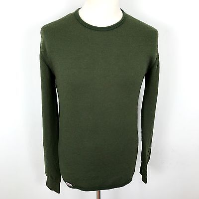 Woolpower L Large Crewneck 200g Base Layer Unisex Mens Womens Forest Green