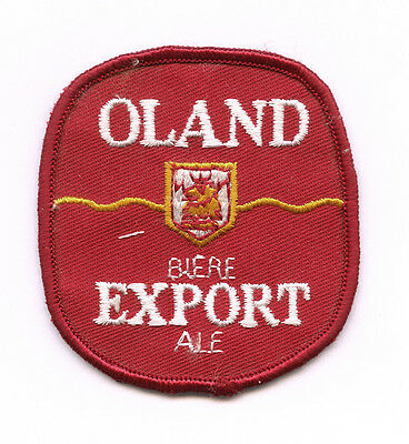 OLAND EXPORT Sew on Emroidered Patch Canadian Ale Beer