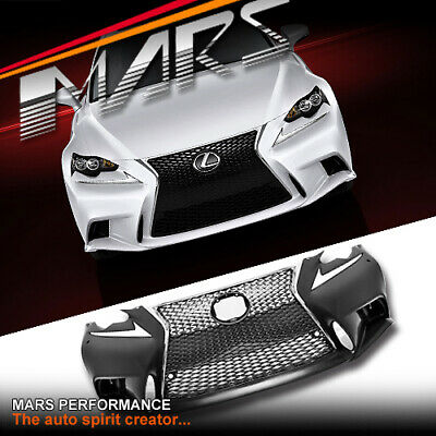 ISF Style Grill & Front Bumper for Lexus IS200T IS250 IS300H IS350 GSE30R 13-16