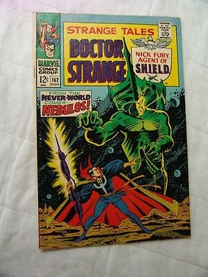 STRANGE TALES #162 VERY GOOD.. (silver age)…