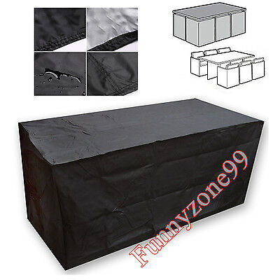 Cube Furniture Set Cover Outdoor Garden Table Chair Lounge Couch Bench Protector