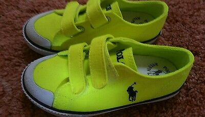 Authentic Toddler polo ralph sneaker Brand new