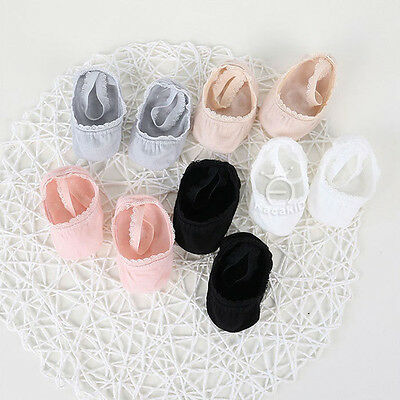 Unisex Newborn Baby Socks Pure Color Anti-slip Lace Toddler Socks Infant Socks