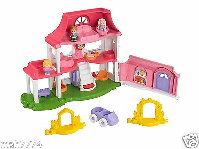 Fisher-Price Little People Happy Sounds House - French