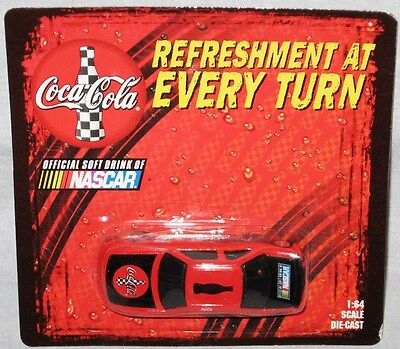 Coca-Cola Official Soft Drink of NASCAR 1:64 Scale Diecast Coke Race Car