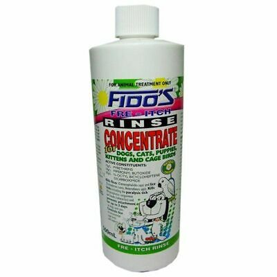Fidos Free Itch Rinse Concentrate 500ml
