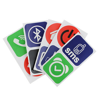 10pcs Smart NFC Tags Stickers for Samsung Galaxy S5 S4 Note 3 Nokia Lumia 9 B5T5