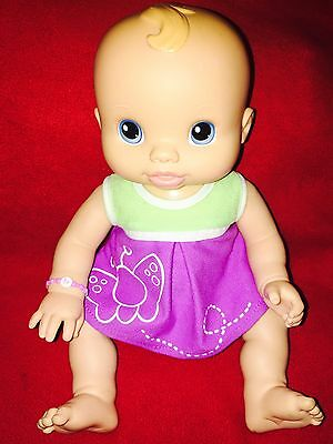 2006 Hasbro Baby Alive Wets And Wiggles Anatomically Correct Girl Doll...WORKS!!