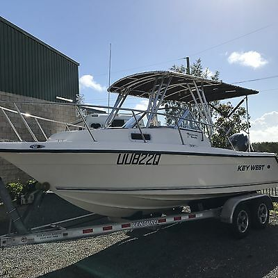 Keywest 2020 Wa Bluewater 20Ft Boat And Trailer