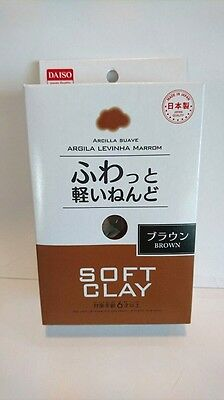 DAISO JAPAN Brown Soft Clay Made in Japan Arcilla Suave F/S Ship to  Worldwide