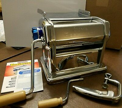 Imperia Restaurant Pasta Machine Commercial R220 Manual