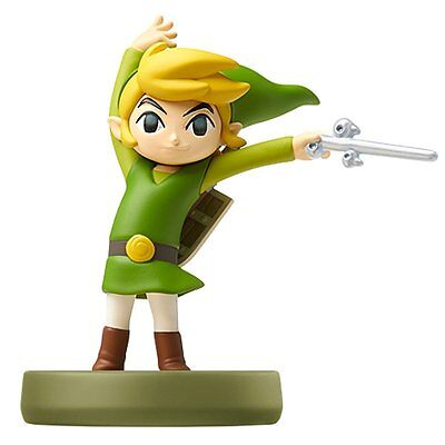 NEW Nintendo Wii U 3DS amiibo Toon Link Wind Waker Legend of Zelda JAPAN