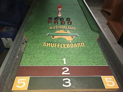 Australian Shuffleboard Table and Accessories