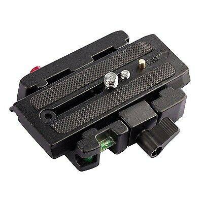 TARION Connect Adapter Mount Stand with Quick Release Plate for Manfrotto 577...