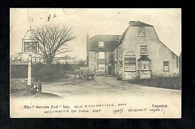 Lancing The Sussex Pad Inn 1905