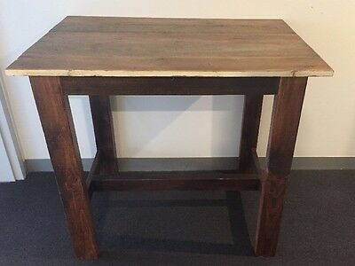 Kitchen Work Bench, Rustic Style, Recycled Timber