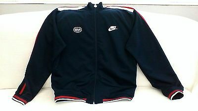 Mens Navy Blue NIke Tracksuit Top Size L